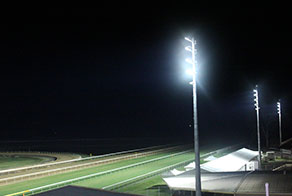 Callaghan Park Racecourse Lighting Installation